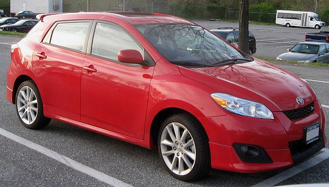 2009 Toyota Matrix XRS