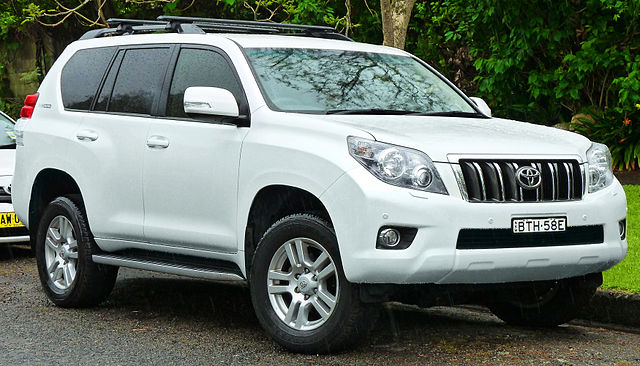 2011 Toyota Land Cruiser Prado